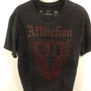 Affliction mens t-shirt.